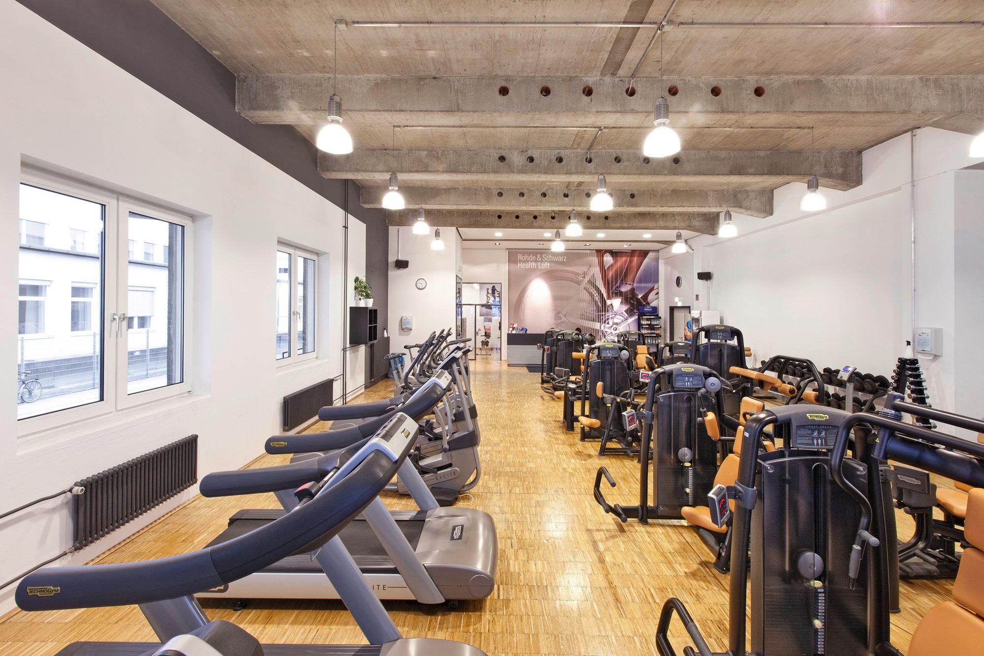 Unser Fitnesscenter 'Health Loft'